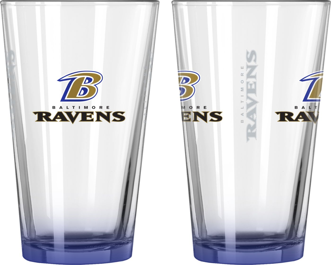 Boelter Baltimore Ravens 16oz Elite Pint 2-Pack