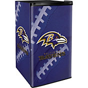 Boelter Baltimore Ravens Counter Top Height Refrigerator