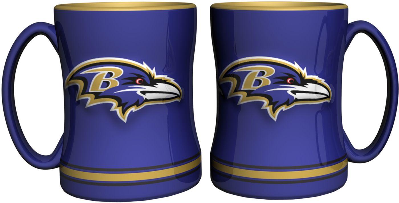Boelter Baltimore Ravens Relief 14oz Coffee Mug 2-Pack