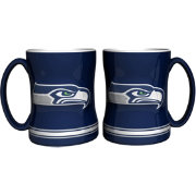 Boelter Seattle Seahawks Relief 14oz Coffee Mug 2-Pack