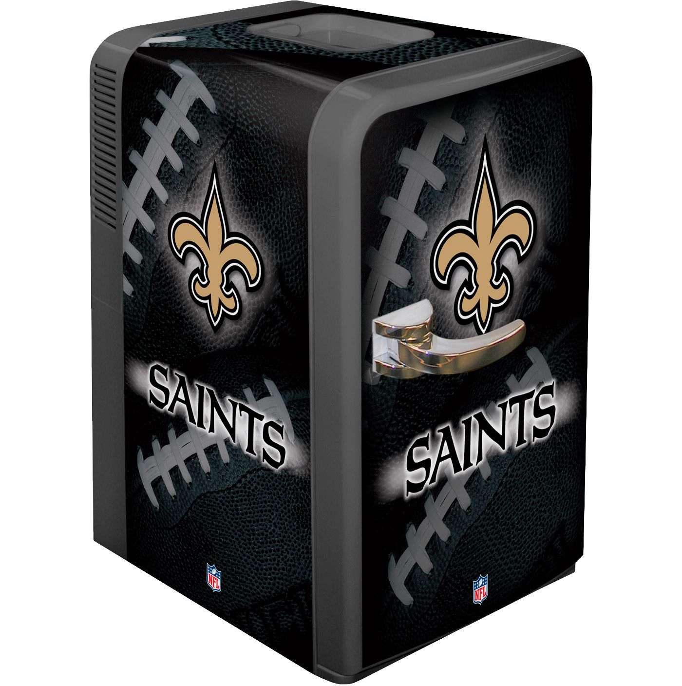 Boelter New Orleans Saints 15q Portable Party Refrigerator