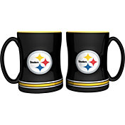 Boelter Pittsburgh Steelers Relief 14oz Coffee Mug 2-Pack