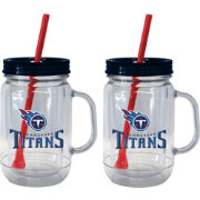 Boelter Tennessee Titans 20oz Handled Straw Tumbler 2-Pack