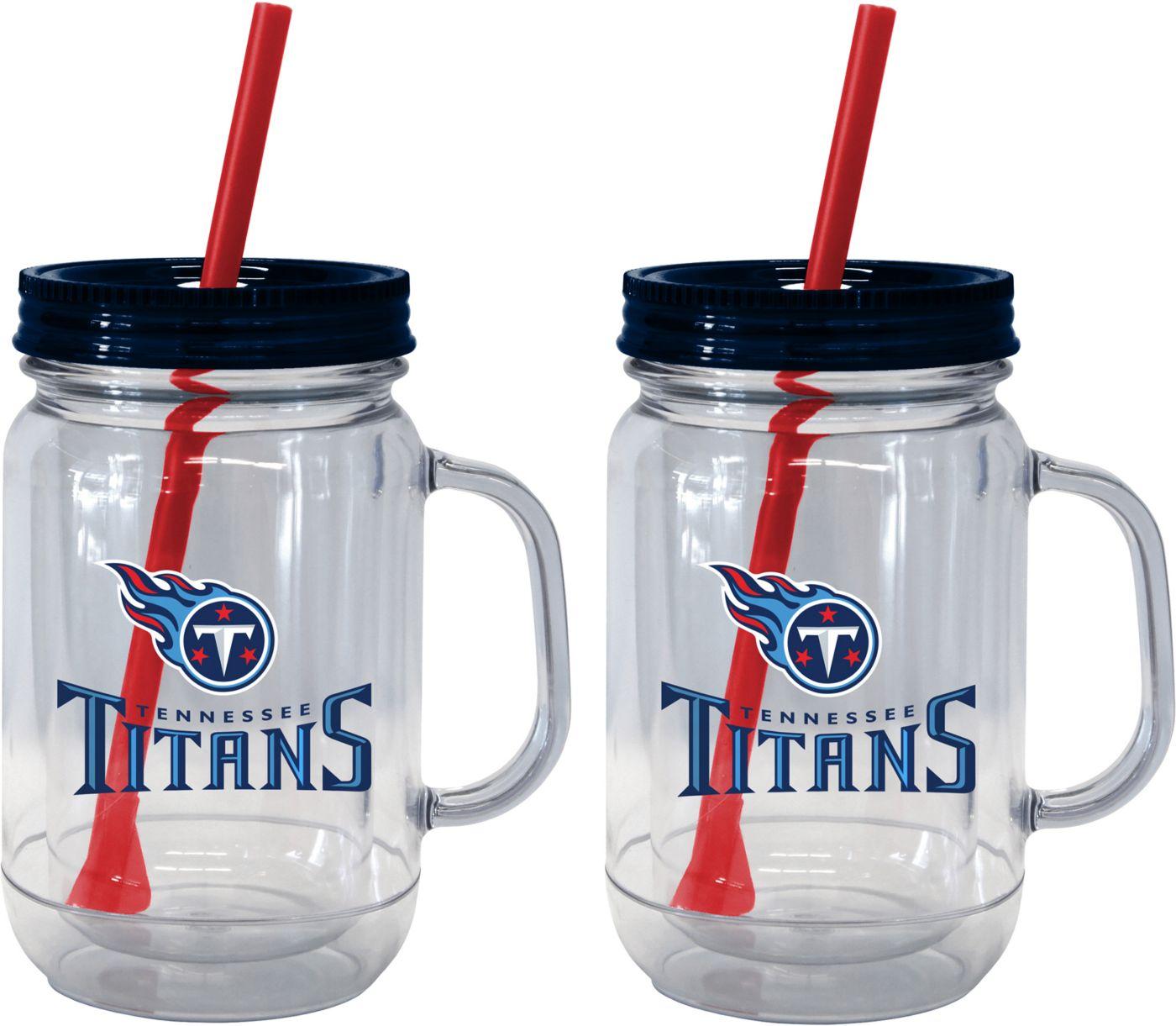 Boelter Tennessee Titans 20oz Handled Straw Tumbler 2-Pack