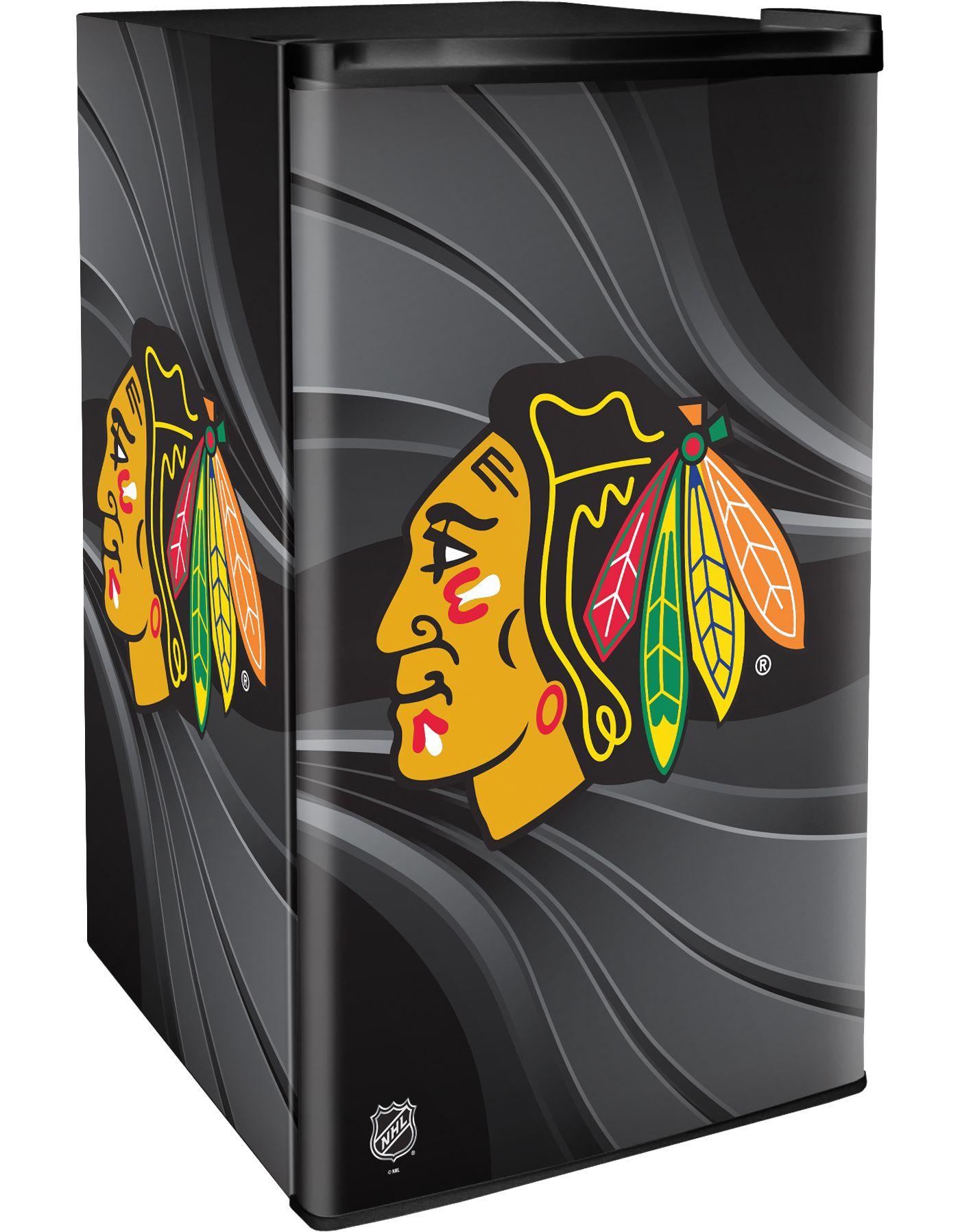 Boelter Chicago Blackhawks Counter Top Height Refrigerator