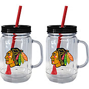 Boelter Chicago Blackhawks 20oz Handled Straw Tumbler 2-Pack