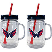 Boelter Washington Capitals 20oz Handled Straw Tumbler 2-Pack