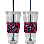 Boelter Washington Capitals Bold Sleeved 22oz Straw Tumbler 2-Pack