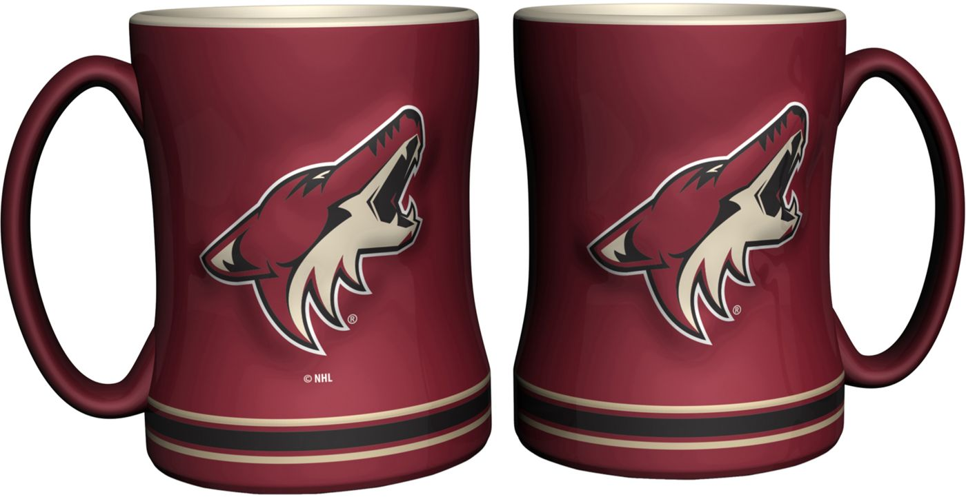 Boelter Arizona Coyotes Relief 14oz Coffee Mug 2-Pack