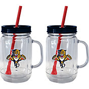 Boelter Florida Panthers 20oz Handled Straw Tumbler 2-Pack