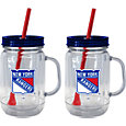 Boelter New York Rangers 20oz Handled Straw Tumbler 2-Pack