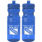 Boelter New York Rangers 24oz Squeeze Water Bottle 2-Pack