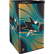 Boelter San Jose Sharks Counter Top Height Refrigerator
