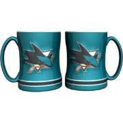 Boelter San Jose Sharks Relief 14oz Coffee Mug 2-Pack