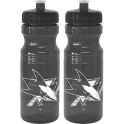 Boelter San Jose Sharks 24oz Squeeze Water Bottle 2-Pack