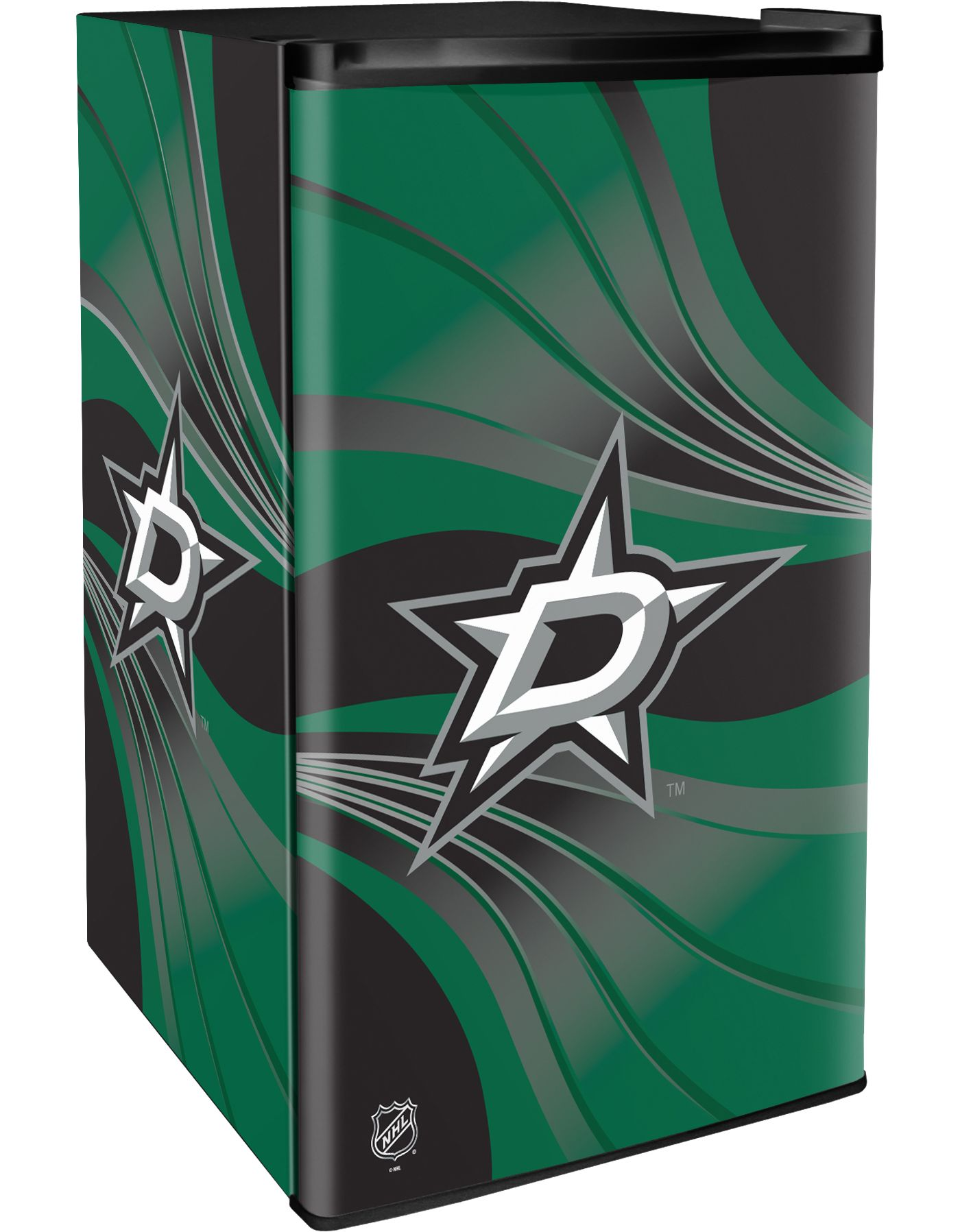Boelter Dallas Stars Counter Top Height Refrigerator