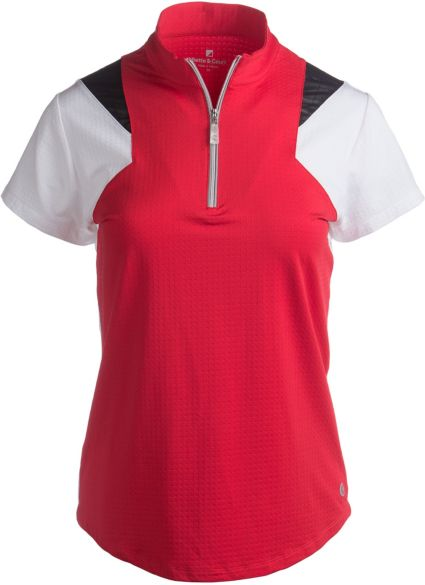 Bette & Court Women's Swift Colorblock Polo