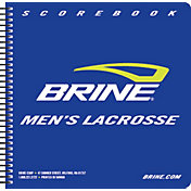 Brine Men's Lacrosse Scorebook