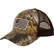 timeless design 4883e 35c45 low price browning buckmark logo flex fit cap l xl brown hi res daebe  6d465  get browning mens patriot mesh hat 33418 87d60