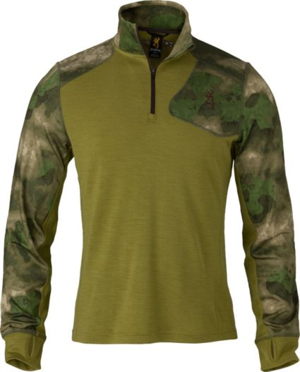 Browning Men's Hell's Canyon Speed MHS 1/4 Zip Base Layer Shirt