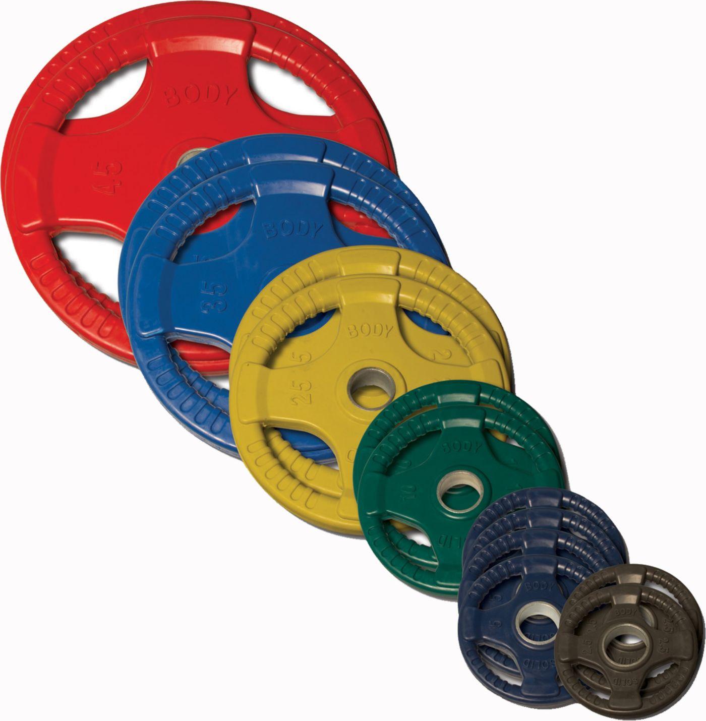 Body Solid 255 lb Olympic Bumper Set