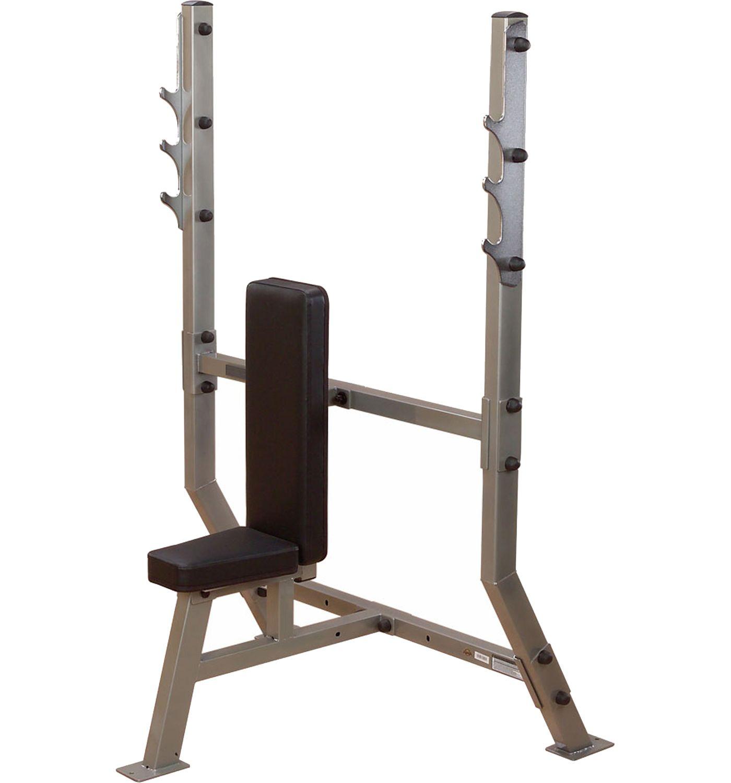 Body Solid Pro Clubline SPB368G Olympic Shoulder Press Machine
