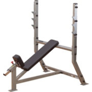 Body Solid Pro Clubline SIB359G Olympic Incline Weight Bench
