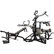 Body Solid SBL460P4 Free Weight Leverage Rack Package