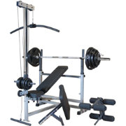 Body Solid PowerCenter Bench and Weight Set