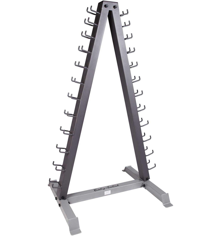 Body Solid GDR24 12-Pair Vertical Dumbbell Rack