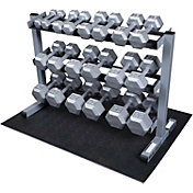 Body Solid GDR363 Dumbbell Rack and Set