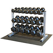 Body Solid Dumbbell Rack and Set