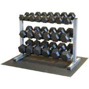 Body Solid GDR363-RFWS Dumbbell Rack and Set