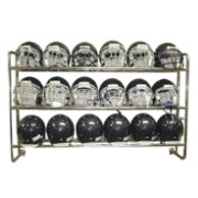 Pro Down Wall Mounted Football Helmet Rack