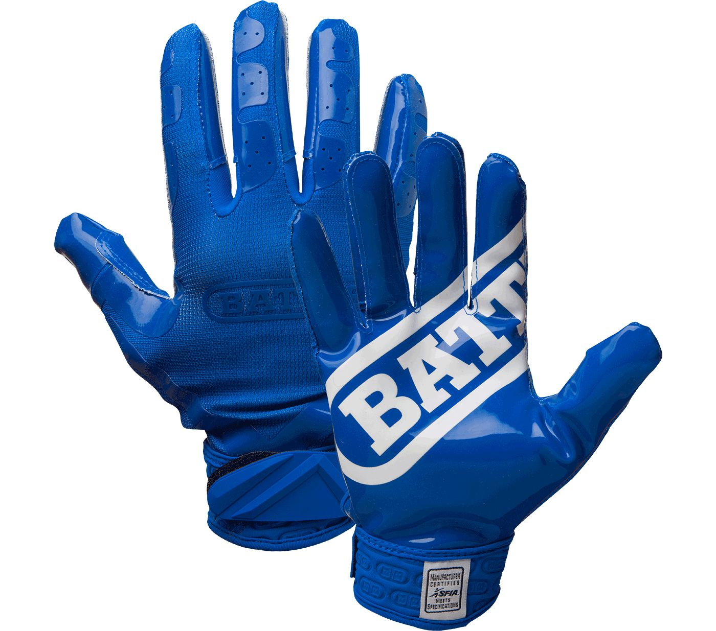 Battle DoubleThreat Adult Football Gloves
