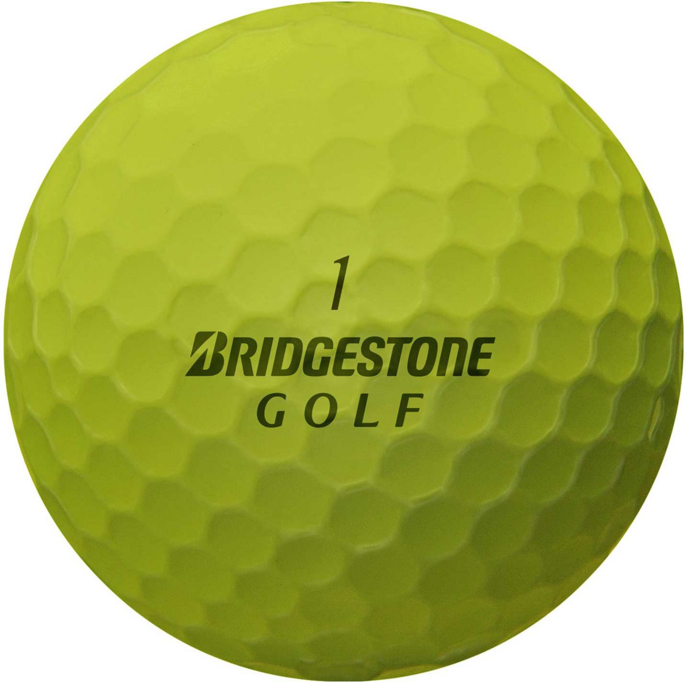 Bridgestone e6 SPEED Optic Yellow Golf Balls