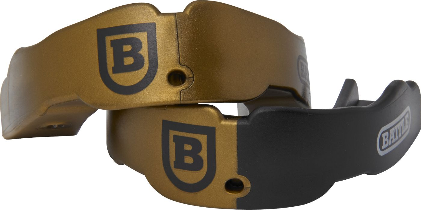 Battle Adult Two-Color Mouthguards