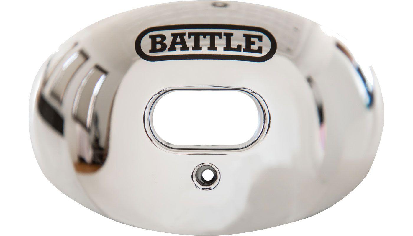 Battle Sports Science Adult Chrome Oxygen Lip Guard