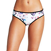CALIA by Carrie Underwood Women's Printed Banded Bikini Bottoms
