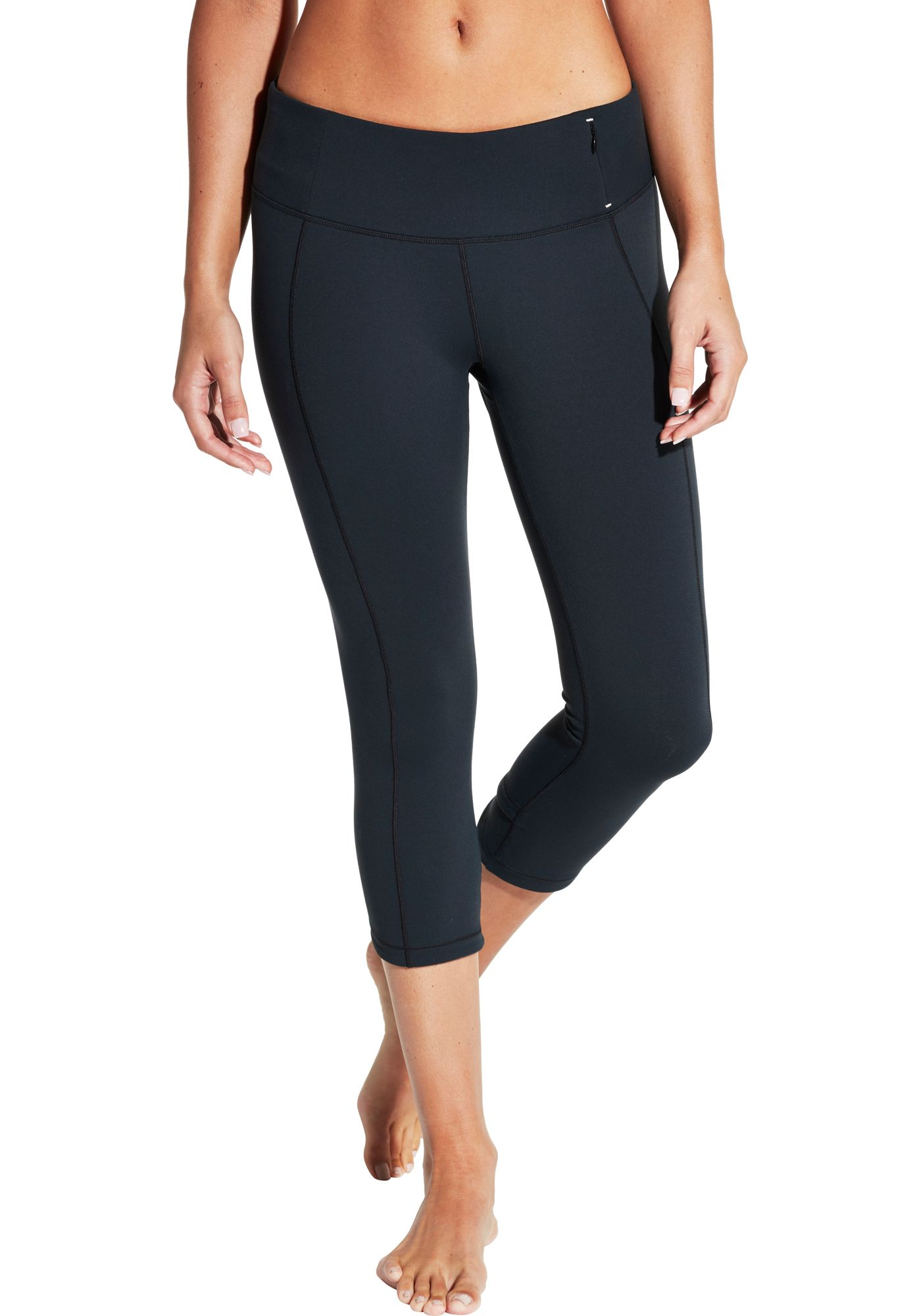CALIA by Carrie Underwood Women's Essential Crossover Fitted Capris