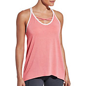 CALIA by Carrie Underwood Women's Flow Strappy Front Neck Tank Top