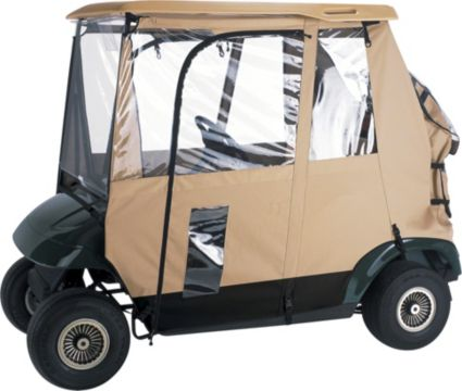 Classic Accessories Deluxe 3-Sided Golf Cart Enclosure