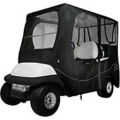 Classic Accessories Fairway Deluxe Long Golf Cart Enclosure – Black