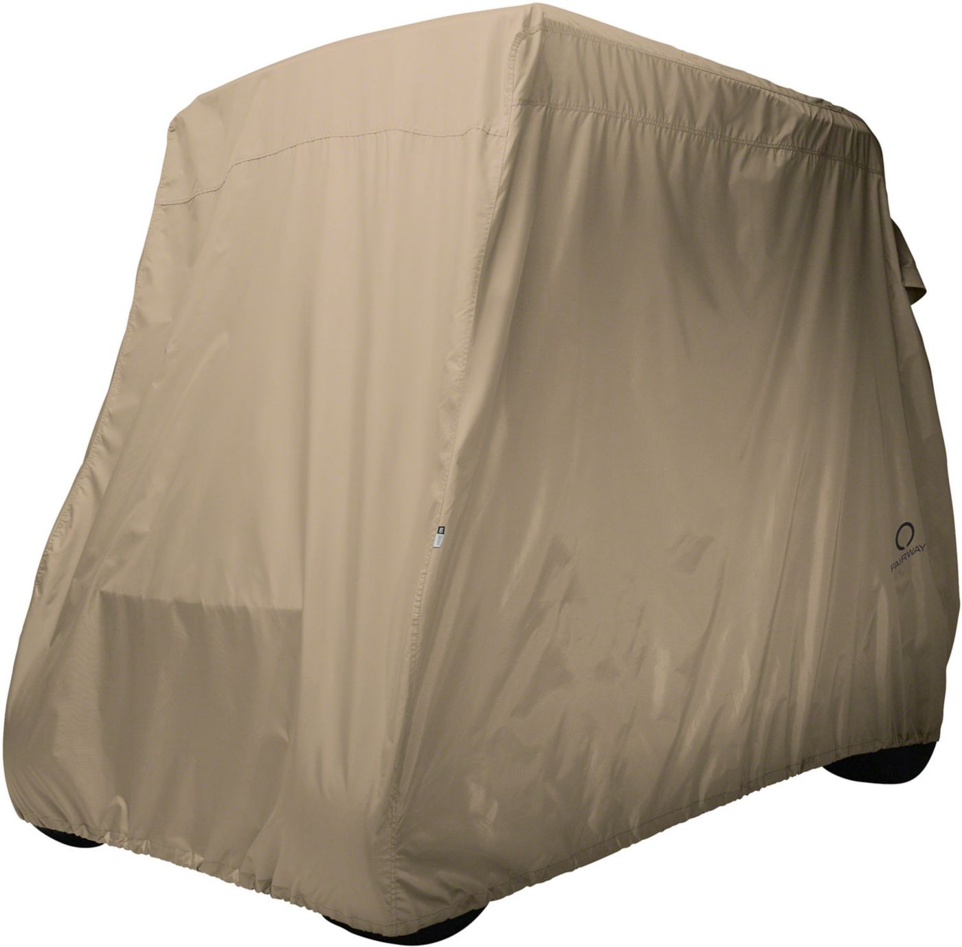 Classic Accessories Fairway Short Golf Cart Cover – Khaki
