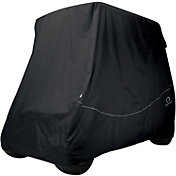 Classic Accessories Fairway Quick-Fit Short Golf Cart Cover - Black