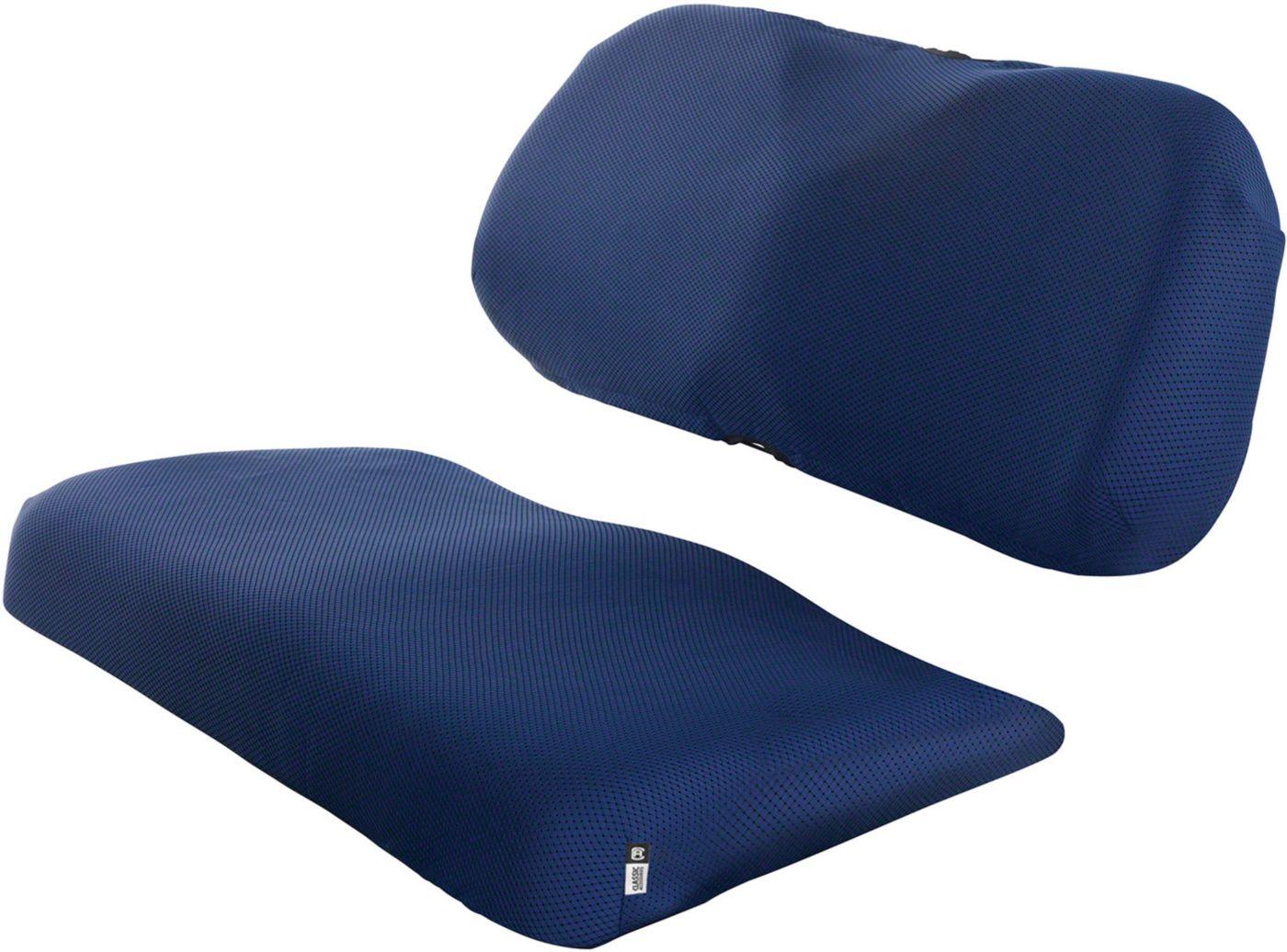Classic Accessories Fairway Navy Diamond Air Mesh Seat Cover