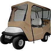 Classic Accessories Fairway Travel Long Golf Cart Enclosure - Khaki
