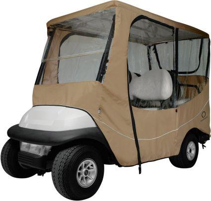 Classic Accessories Fairway Travel Long Roof Khaki Golf Cart Enclosure