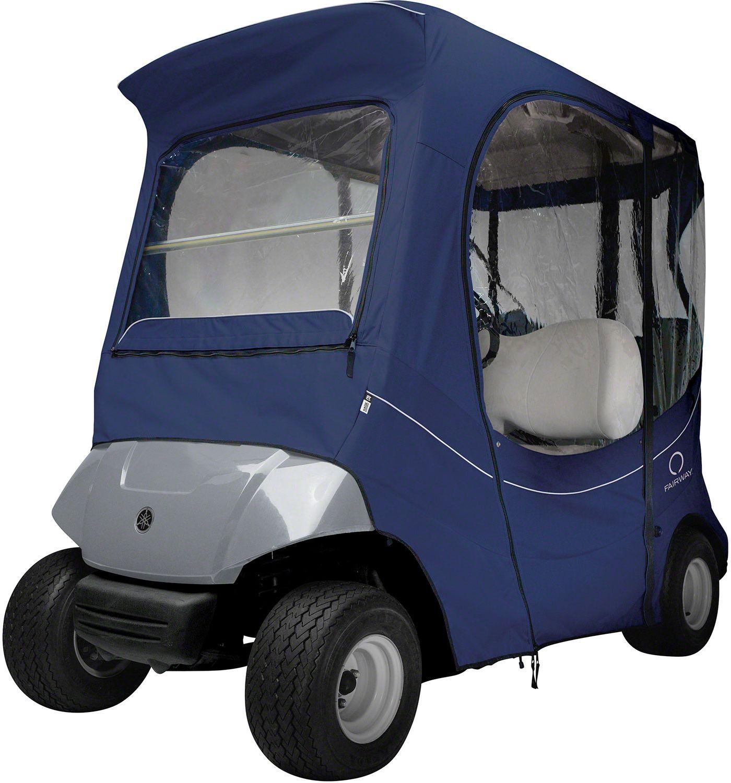 Classic Accessories Fairway FadeSafe Yamaha Navy Golf Cart Enclosure