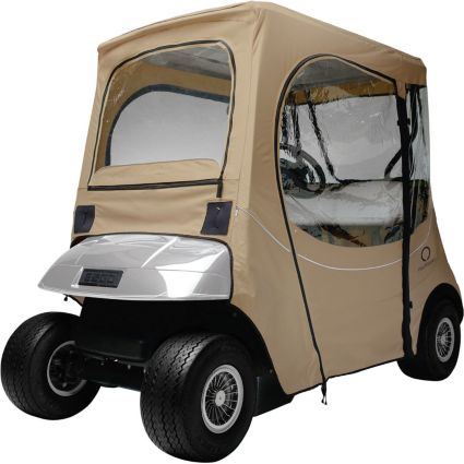 Classic Accessories Fairway FadeSafe E-Z-GO Khaki Golf Cart Enclosure